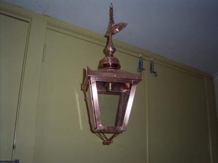 Lara copper handmade copper lights and coach house lanterns hanging lantern light aloadofball Image collections